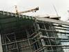 Vėjuoti orai - poilsis statybininkams
